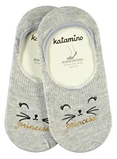 Katamino Katamino Kız Çocuk Babet Çorap 5-13 Yaş Ekru Katamino Kız Çocuk Babet Çorap 5-13 Yaş Ekru